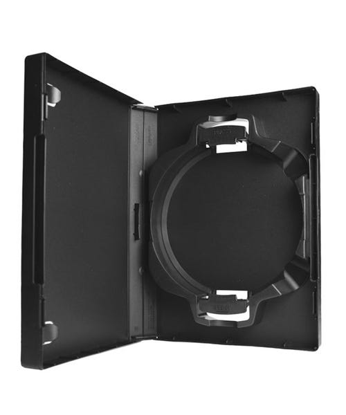 Polyline 6-Disc ACE Library 30mm Spine DVD Case - Black