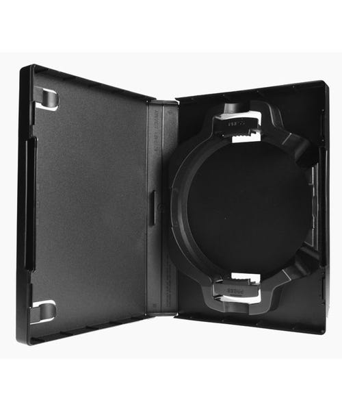 Polyline 8-Disc ACE Library 30mm Spine DVD Case - Black