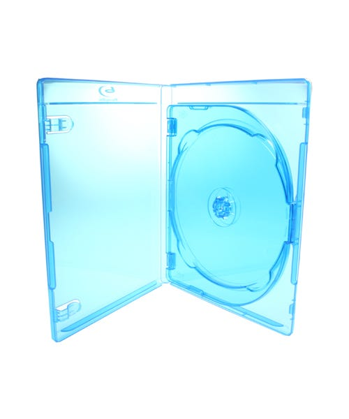 Polyline 3-Disc Blu-ray Case - Polypropylene - Overlay & Silver Embossed Blu-ray Logo