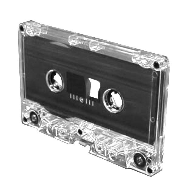 Polyline Saehan MX3P Audio Cassette Tapes - 60 Min - Normal Bias Type 1 - Music Grade - 100pc Bulk (no cases)