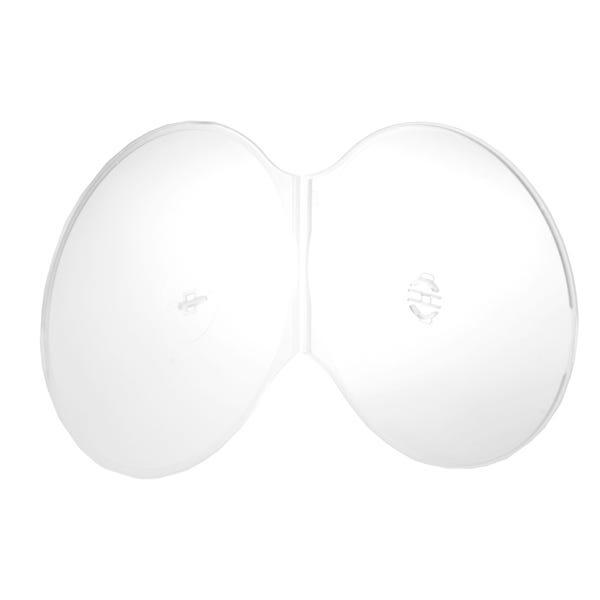 Polyline CPak Clamshell Case - Clear - Polypropylene - Round