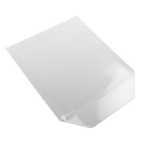 Polyline CD/DVD Sleeve - Clear - Polypropylene -  Flap - 100 Pack