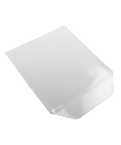 Polyline CD/DVD Sleeve - Clear - Polypropylene -  Flap - 100 Pack