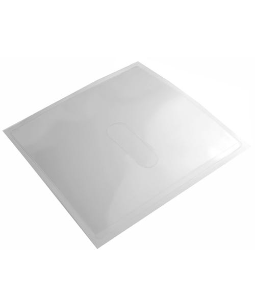 Polyline Adhesive CD Sleeve - Clear - Polypropylene - No Flap - No Seal