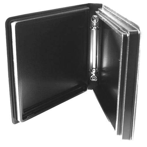 Polyline 2-Ring Disc Binder - 14-Disc - Black - Matte - Vinyl - Overlay