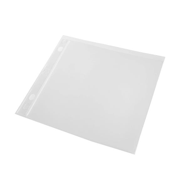 Polyline CD Binder Sleeve - 2- or 3-Ring Binders -Vinyl - No Flap - 1 Pocket - 500 per Case