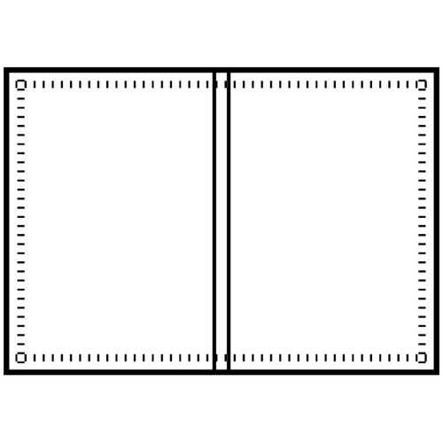 Polyline Perforated DVD Case Insert (100 Sheets)