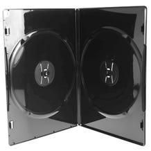 Polyline 2-Disc Slim DVD Case - Black - 7mm - Overlay