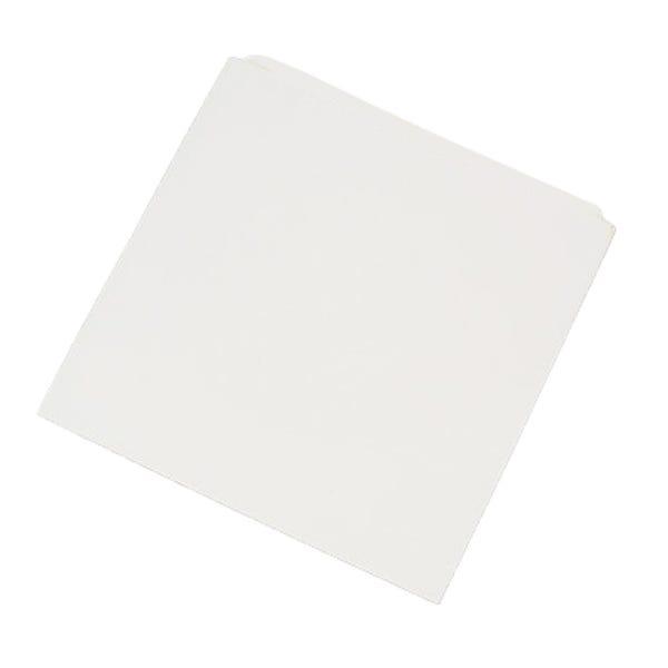 Polyline CD/DVD Sleeve - White - Paper - Flush Cut Opening - No Window