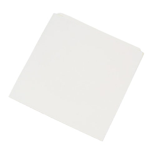 Polyline CD/DVD Sleeve - White - Paper - Flush Cut Opening - No Window