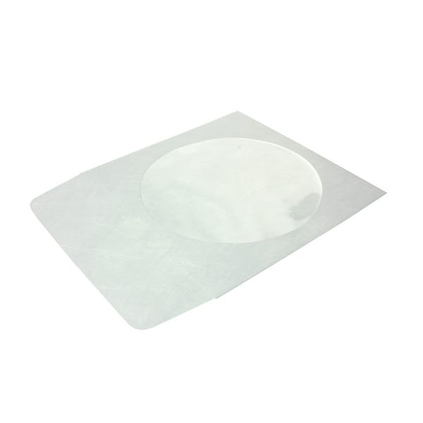 Polyline CD/DVD Sleeve - White - Tyvek - Flap - Window