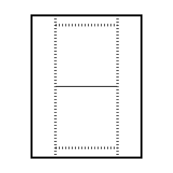 Polyline Perforated Jewel Case Front Insert (400 Inserts)