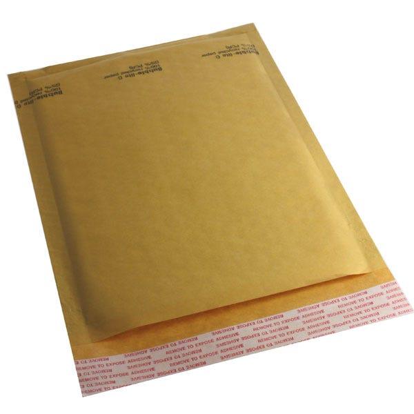Polyline General Mailer - 6 x 9 in -KraftBubble-Lined - Peel & Seal Flap