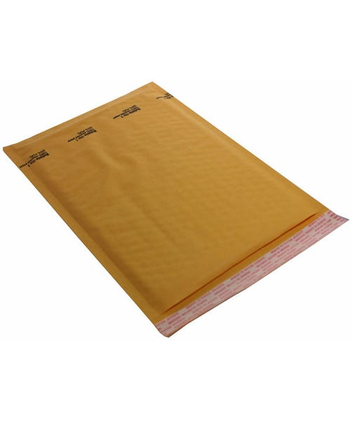 Polyline General Mailer -7 x 11 in - KraftBubble-Lined - Peel & Seal Flap