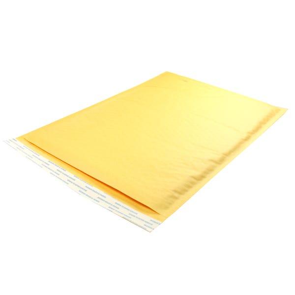 Polyline General Mailer -10 1/2 X 16#5 - KraftBubble-Lined -Peel & Seal Flap