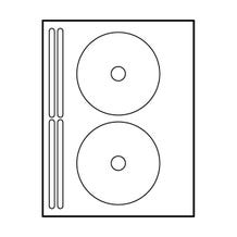"Polyline Avery Compatible Matte CD Labels - 4-5/8"" (200 Labels)"