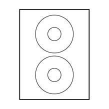 POLYLINE AVERY COMPATILE MATTE CS LABELS – MATTE 4-5/8(200 labels)
