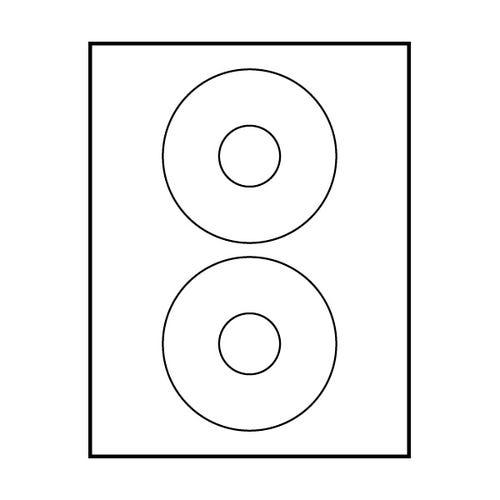 "Polyline Avery Compatible Matte CD Labels - Matte - 4-5/8"" (400 Labels)"