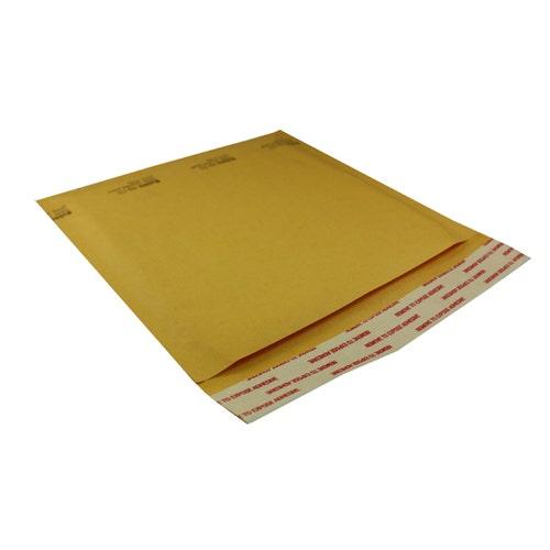 Polyline Standard Jewel Case Mailer -7.25 x 6.75 in - KraftBubble-Lined - Peel & Seal Flap