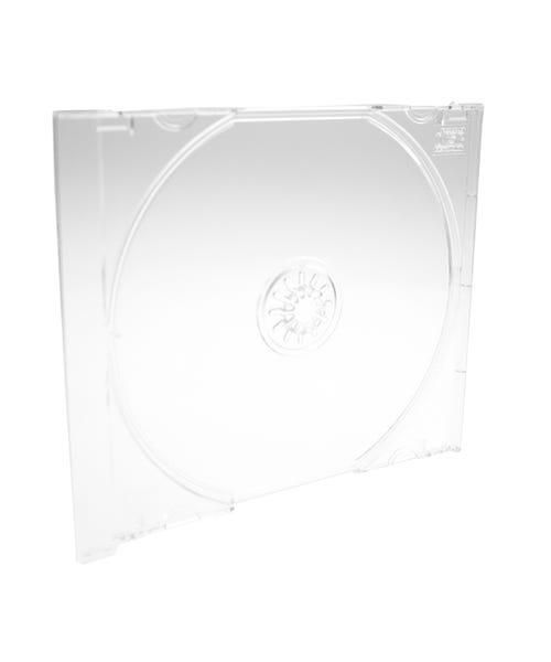 Polyline Jewel Case Tray - Crystal Clear - Polystyrene - Automatable -  CD Logo