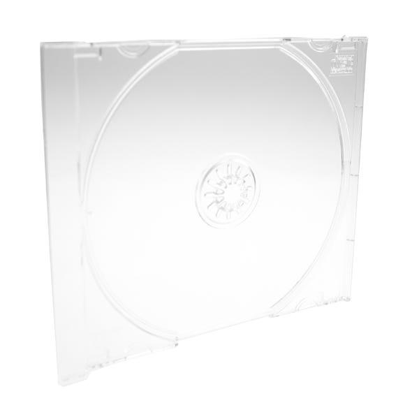 Polyline Jewel Case Tray - Crystal Clear - Polystyrene - Automatable -  CD Logo