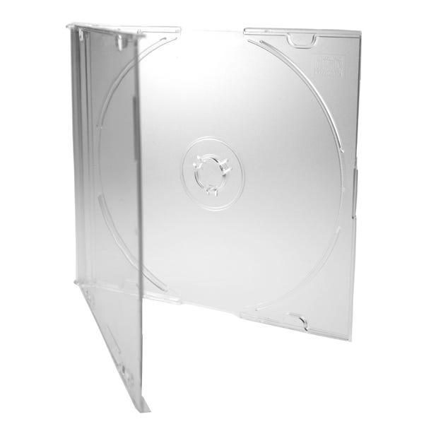 Polyline Slimline 5.2mm CD Jewel Case - Clear Bottom (200 Pack)