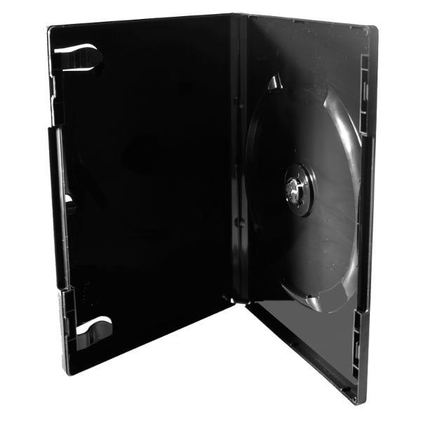 Polyline PL-Pro DVD Case - Black - 14mm - Glossy - Overlay