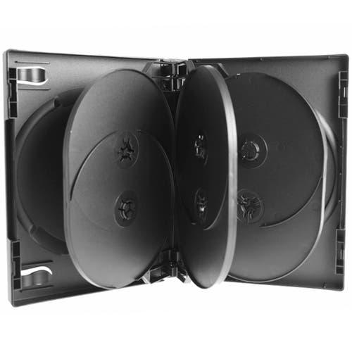 Polyline 8-Disc VERSApak 27mm Spine DVD Case - Black (60 Pack)