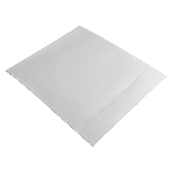 Polyline Adhesive CD Sleeve - Clear - Vinyl - Tamper-Evident Seal