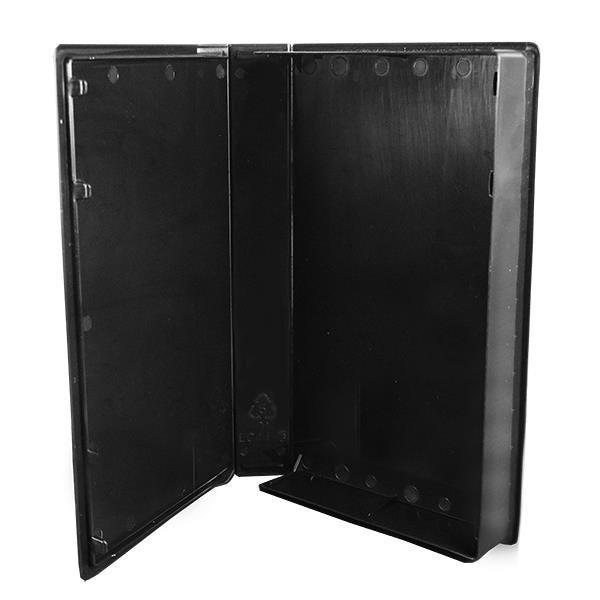 Polyline VHS Case - Glossy Black - Full Sleeve (50 Pack)