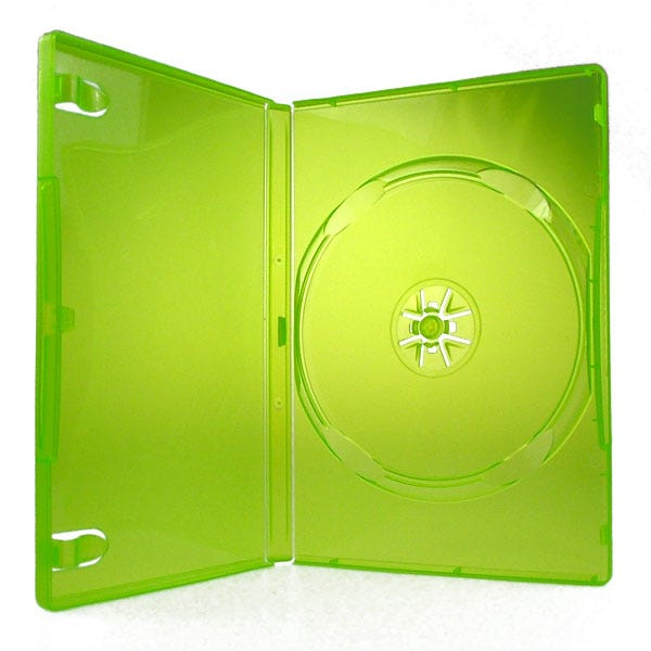 Polyline Xbox 360 Disc Case - Translucent Green (100-Pack)