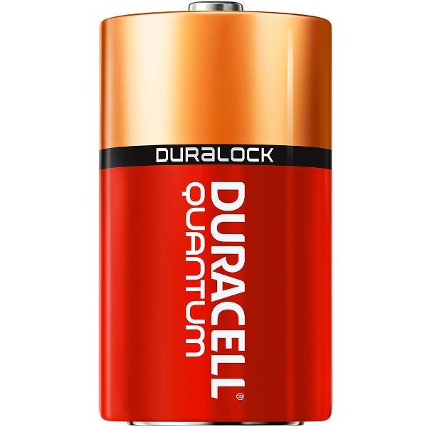 Duracell D Quantum Alkaline Batteries - 12 Pack