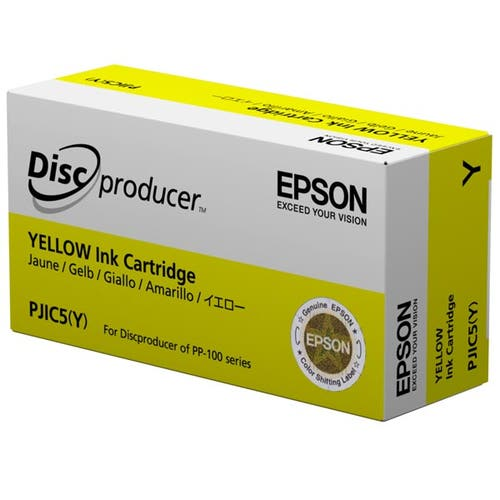 Epson Ink Cartridge for Discproducer Series - Yellow