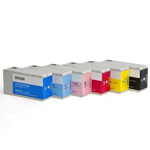 Epson Six-Color Ink Cartridge Set for Discproducer Series