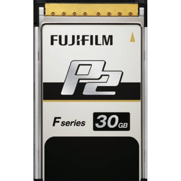 Fuji 30GB F-Series P2 Memory Card - Read/Write up to 1.2GB/s