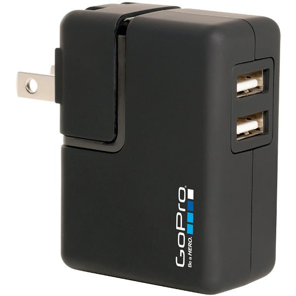 GoPro Wall Charger for HERO4, HERO3+, HERO3, HERO, HD HERO2,
