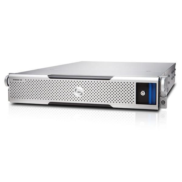 G-Technology G-RACK 12, 128GB RAM, 4x10GbE NIC, 96TB