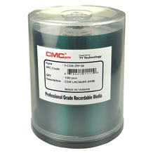 CMC Pro Taiyo Yuden 52X Silver Thermal Hub Printable CDR Cake Box - 100pc