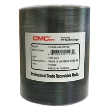 CMC Pro Taiyo Yuden 8X Thermal Silver Lacquer Hub Printable 4.7GB DVD-R Shrinkwrap - 100pc