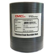 CMC Pro Taiyo Yuden 16X White Inkjet Hub Printable 4.7GB DVD+R Shrinkwrap - 600pc