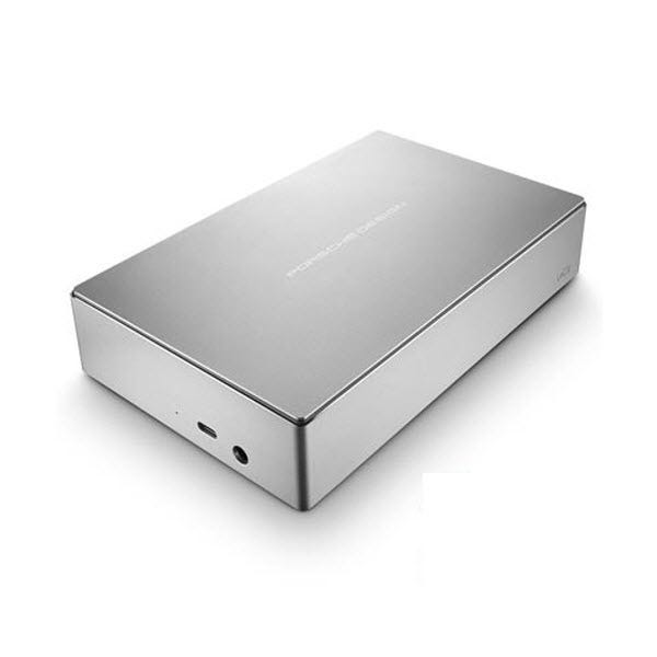 LaCie 4TB Porsche Design USB Type-C External Desktop Hard Drive