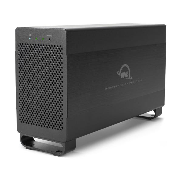 OWC 12TB Mercury Elite Pro Dual 2-Bay Thunderbolt 2 RAID Array