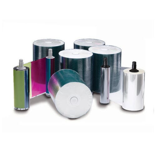 Rimage Everest 400/600 DVD-R Media Kit - 500 DVDs (White Top), 1 CMY Ribbon, 1 Retransfer Roll