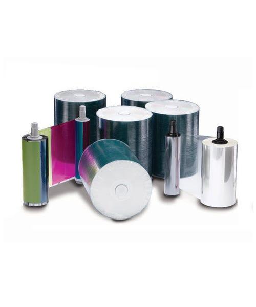 Rimage Everest 400/600 DVD-R Media Kit - 500 DVDs (White Top), 1 CMY Ribbon, 1 Retransfer Roll