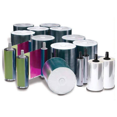 Rimage Everest 400/600 DVD-R Media Kit - 1000 DVDs (White Top), 2 CMY Ribbons, 2 Retransfer Rolls