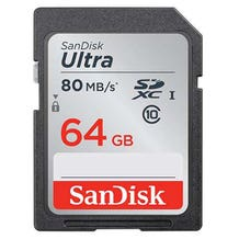 SanDisk 64GB Ultra UHS-I SDXC Class 10 Memory Card