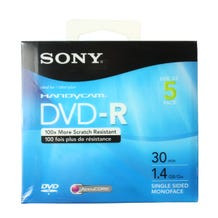 Sony 3-inch DVD-R for HandyCam 1.4GB - Branded in Jewel Case - 1pc