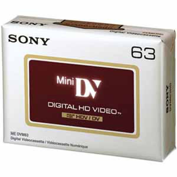 Sony HD DVC - 63 Minutes - High Definition DVC - Consumer Mi