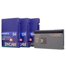 Sony DVCAM - PDV124ME - 124 Minute - Large Cassette Tape wit