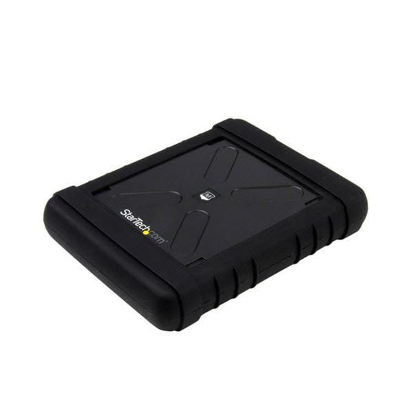StarTech Rugged Hard Drive Enclosure - USB 3.0 to 2.5in SATA